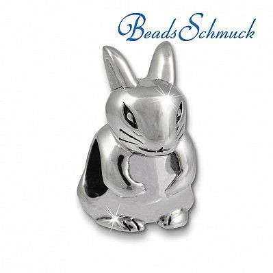 IMPPAC Bead Hase Armband Beads 925er Silber IMPPAC Silberbeads SBB532