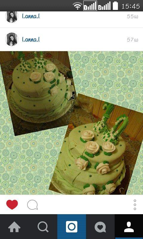 Торт  #торт_на_заказ_умань #день_рождения #бисквитный_торт #шоколадный_торт