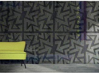 Carta da parati geometrica lavabile VICEVERSA - N.O.W.  Edizioni