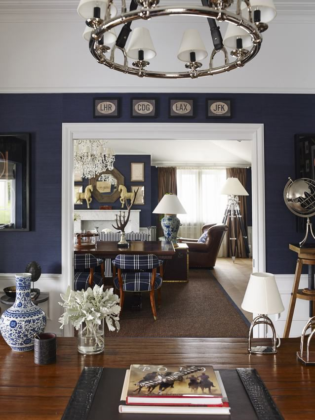 love the monograms - Chinoiserie Chic: New England Chinoiserie Aussie Style