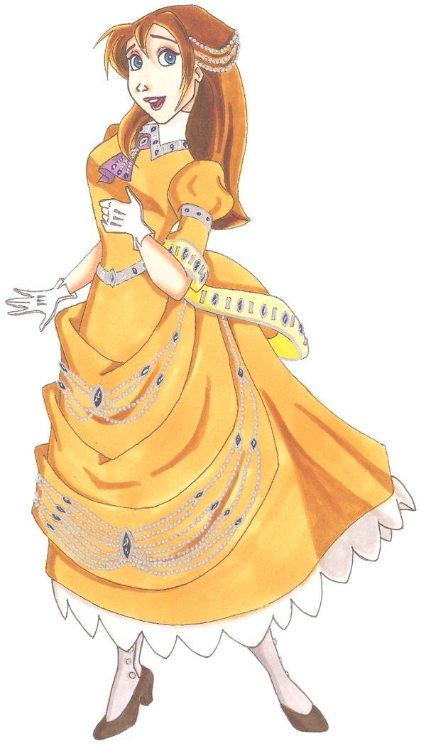 Disney Glamour 1999 Jane by Sil-Coke.deviantart.com on @deviantART