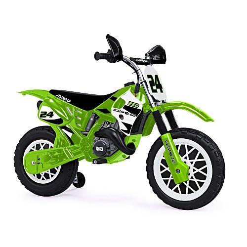 injusa kinder motorrad scrambler 6v diese elektrische kindermotorrad ist genau das richtige f r. Black Bedroom Furniture Sets. Home Design Ideas