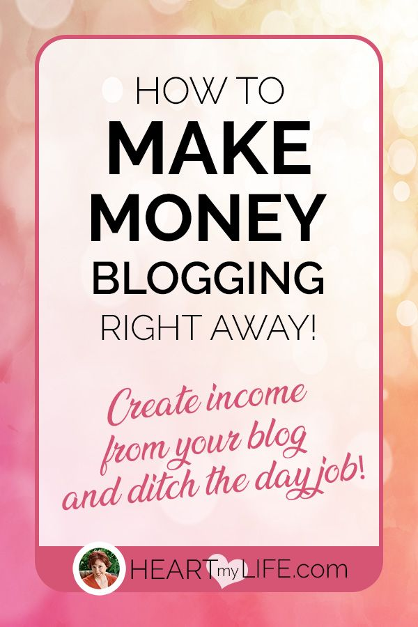 How To Make Money Off Of Blogging From Day One! – Heart My Life! | Work From Home | Affiliate Marketing | Blogging