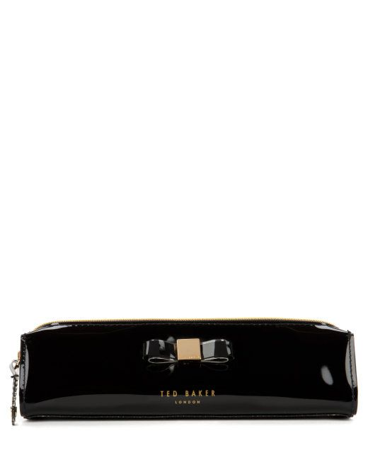 PAM - Bow pencil case - Black | Womens | Ted Baker UK