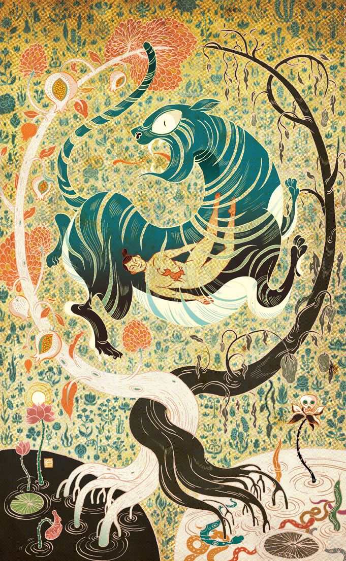 Chinese Fairy Tales and Fantasies Victo Ngai I have had the great pleasure to work with Folio Society earlier this year on this book. For those of you who are not familiar with Folio Society, they are...