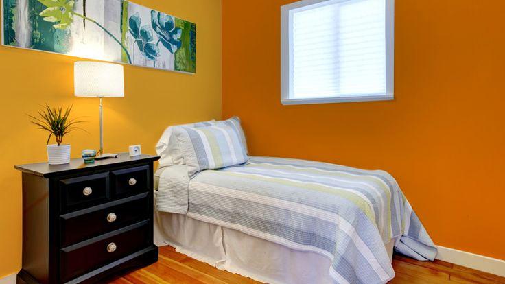 Kamar Remaja Orange yang Seru