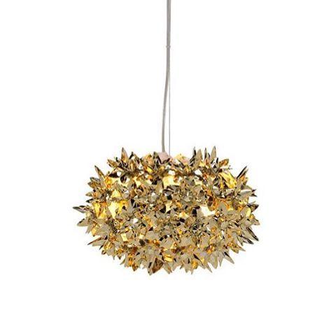 gold wishlist small bloom by ferruccio laviani kartell inspiration stilllife precious bloom lamp gold ferruccio laviani