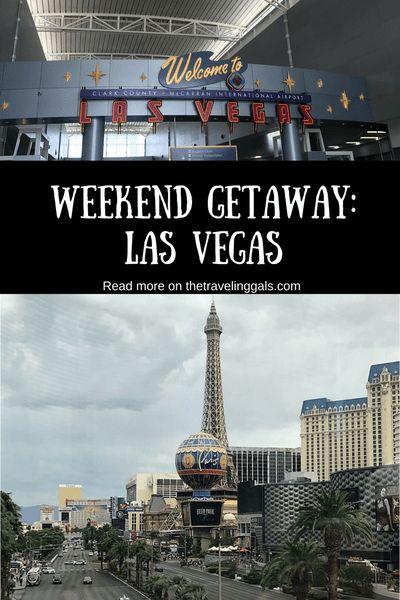 WEEKEND GETAWAY: Las Vegas - Read more on thetravelinggals.com #travel #usa #lasvegas