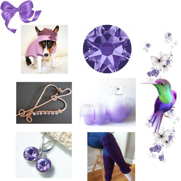 Purple & Wonderful by cozeequilts on Polyvore featuring CAVO and Bibi