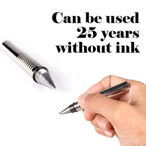 Beta Inkless Metal Pocket Pen