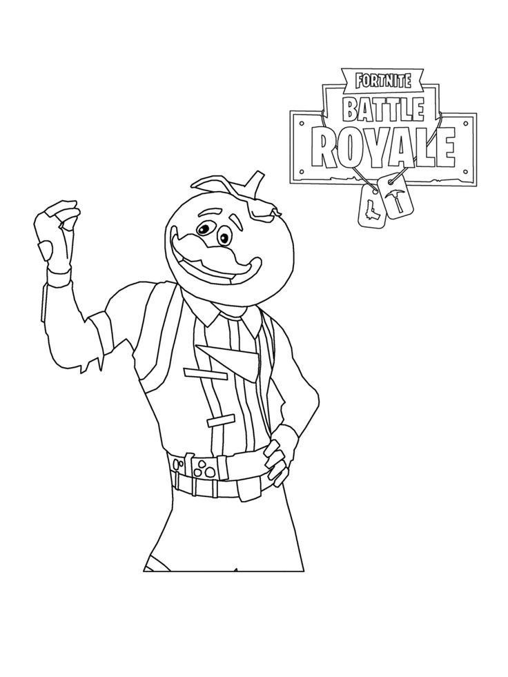 Printable Colouring Pages Fortnite Print Fortnite Battle Royale