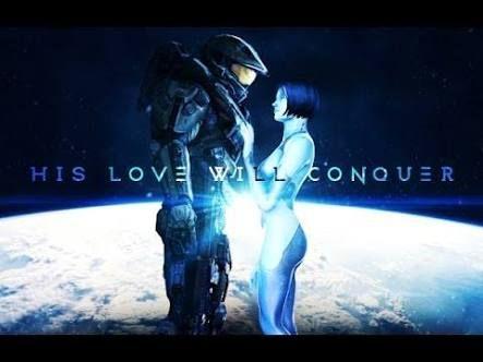 cortana and master chief make love - Google Search