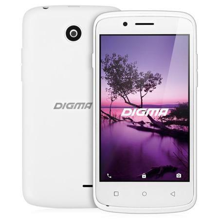Смартфон Digma LINX A420 3G White, белый  — 3190 руб. —  Смартфон Digma LINX A420 станет удобным устройством на каждый день. Благодаря небольшим размерам он удобно лежит в руке и не выглядывает из карманов. Система Android 6.0 справится со всеми задачами, 2 сим-карты позволят экономить на тарифах, а наличие GPS-модуля делает аппарат очень удобным в путешествиях и деловых поездках.