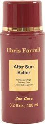 After Sun Butter by Chris Farrell. $15.99. After Sun Butter is a pleasantly chilling butter preparation for face and body for all skin types. It works moisturising and oil-restoring.High-quality plant-extracts from the rain-forest affect skin-calming and strengthen the immune system. The additional phyto-oils in After Sun Butter affect skin-calming and itchiness-allaying. Reddened skin is neutralized quickly, sun-blisters fade away (with scavengers).Application:Apply A...