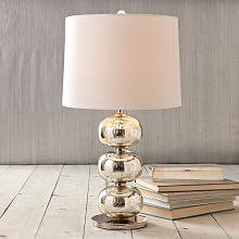 Abacus Table Lamp - Mercury