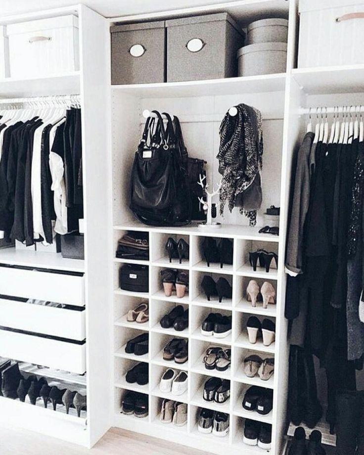 "37 Likes, 2 Comments - Viva Bem Organizada Vandreia (@vandreiavivabemorganizada) on Instagram: ""Inspiração para um lindo closet !#vivabemorganizada#closet #closetorganization…"""