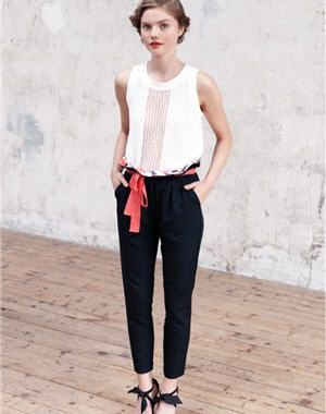 top et pantalon de rodier