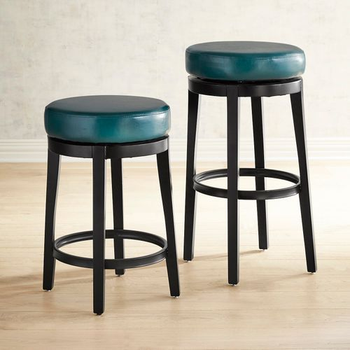 Magnificent Stratmoor Teal Swivel Counter Bar Stool Bar Stools Ocoug Best Dining Table And Chair Ideas Images Ocougorg