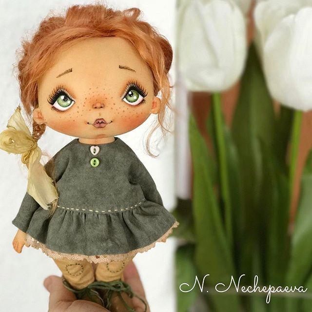 Привеееееет!!! У меня #наконецто готова третья кукла. Сегодня втроём будем искать дом: два генератора и один аукцион . Фотографий будет много  - #извиняйте... #весна#рыжеесчастье#люблю