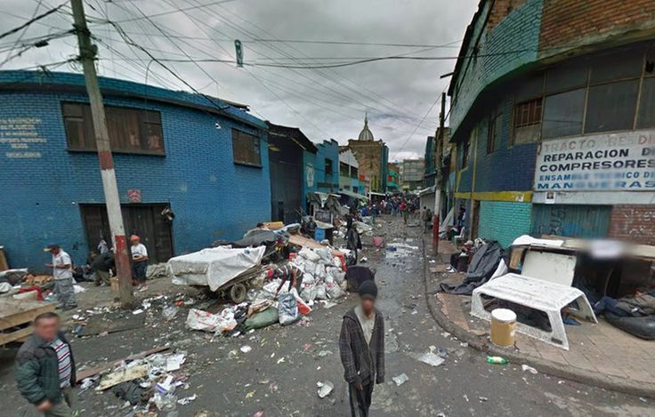 El Bronx, el barrio de la indigencia en Bogotá tiene más de 60 años