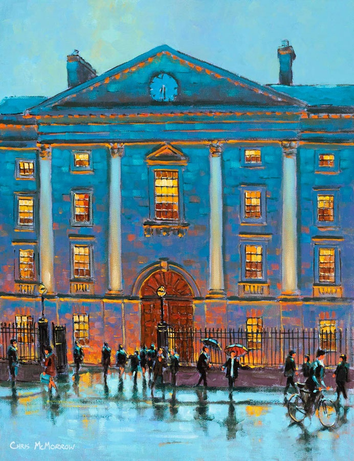 Trinity College by Chris McMorrow (code-472) - PRINT