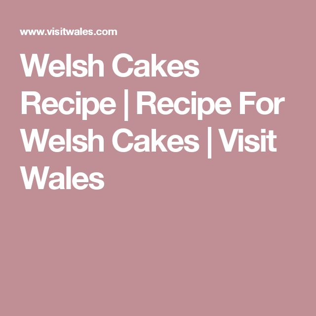Welse Cakes