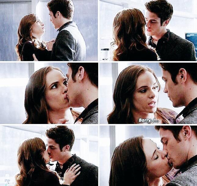 SHE KISSED HIM BACK #Snowbarry