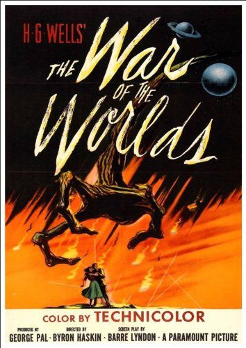 'War Of The Worlds' 1953 (3) - Fantastic A4 Glossy Print Taken From A Vintage Sci-Fi Movie Poster by Design Artist http://www.amazon.co.uk/dp/B00I940IWY/ref=cm_sw_r_pi_dp_ej2jvb070V4GF