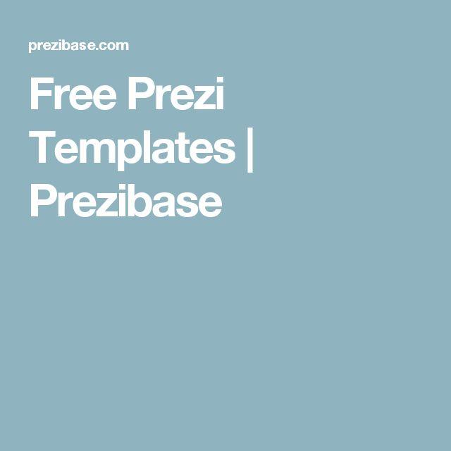 56 best free prezi templates images on pinterest presentation free prezi templates prezibase toneelgroepblik Gallery