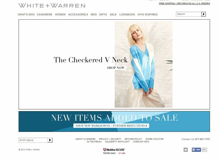 White + Warren is an apparel firm based in New York City that specializes in contemporary knitwear and luxury cashmere.