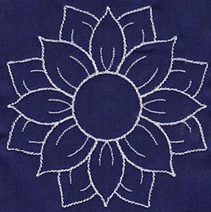 lotus flower - I thought it was a sunflower, I guess my Kansas is showing.