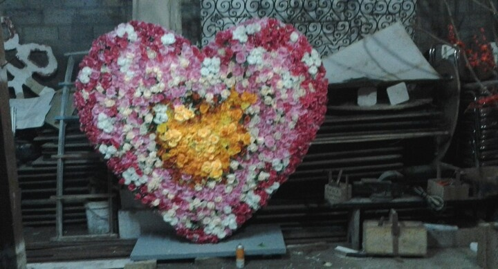 The love for valentine