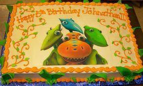 dinosaur train cakes | Dinosaur Train Birthday Cake