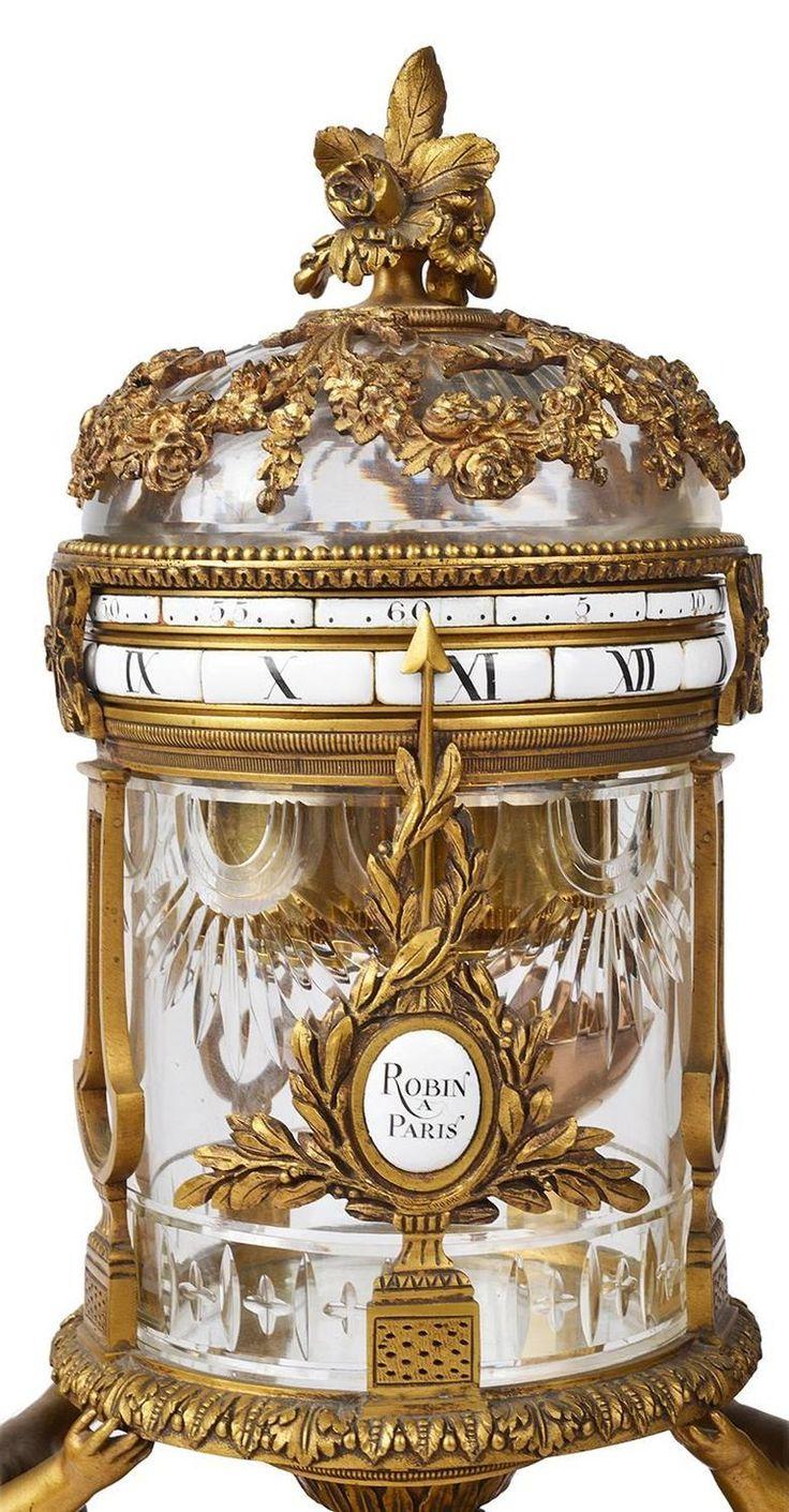 19th Century Revolving Mantel Clock 3