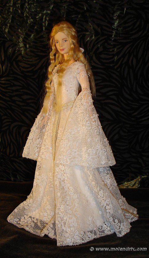 galadriel ooak doll mirror dress pattern