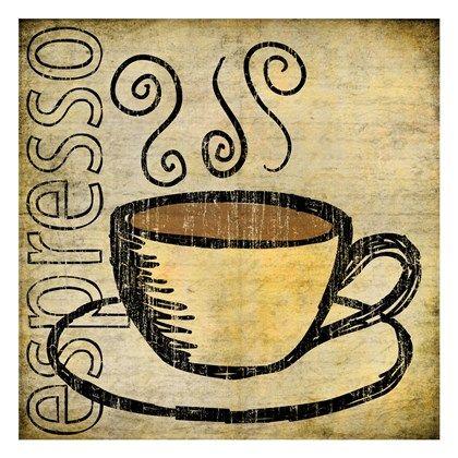 Coffee 3 by Kristin Emery art print