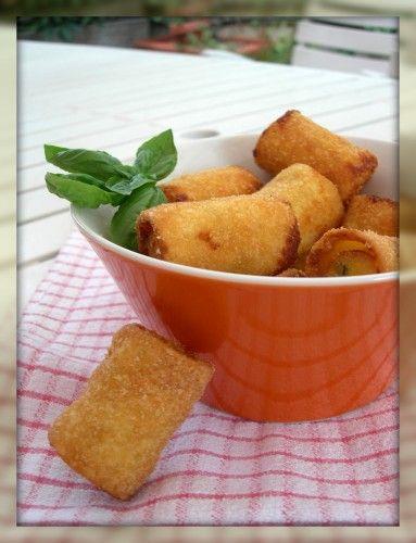 Paccheri fritti (sono come le ciliegie)!!