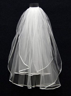 Wedding Veil 2013, White Wedding Veil, Ivory Wedding Veil via Etsy
