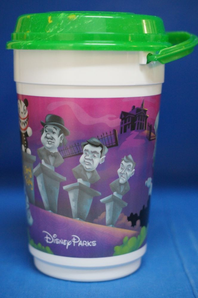 Disney Parks Nightmare Before Christmas Haunted Mansion Holiday Popcorn Bucket