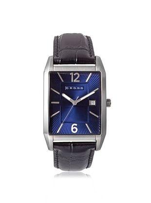 46% OFF Cross Men's CR8001-03 Gotham Black/Blue Stainless Steel Watch