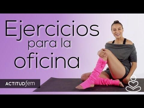 Estiramientos para relajarte en la oficina| Be Yoga | ActitudFEM