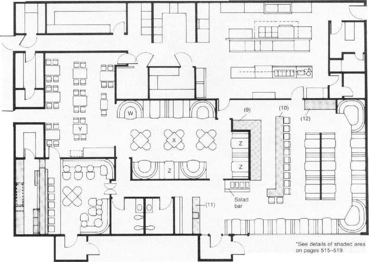 Restaurant Kitchen Layout Autocad the 25+ best restaurant layout ideas on pinterest | blackboard
