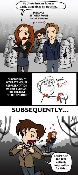 #truth: Doctors Otp, Basic Yeah, The Ponds, The Doctors, Asylum Of The Dalek, Doctors Who, Comic Book, So True, Dw Spoiler