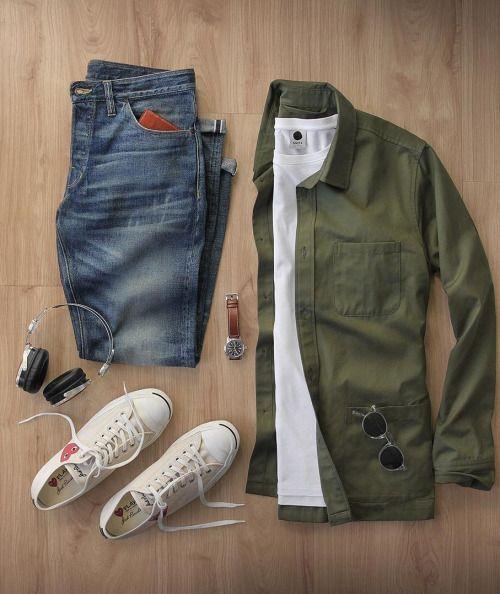 Like casual men's fashion looks like this? Follow my board------> https://www.pinterest.com/marcuswalton35/mens-casual-wear/