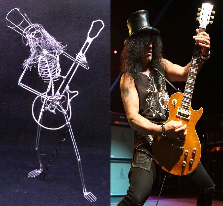 'Slash' model guitarist