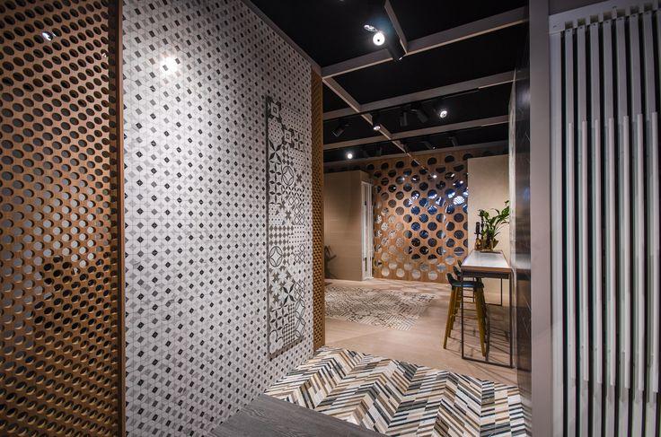 Arcana Tiles | Cersaie 2016 | Bologna | Arcana Ceramica | Bologna Fiere | Architecture and ceramics exhibition