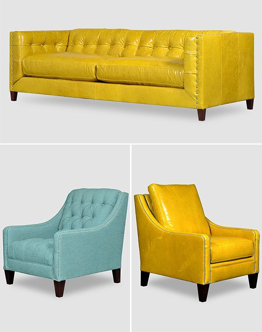 25 Best Ideas about Yellow Leather Sofas on Pinterest  : 8f7ad877ee9c386d456d2acd987f4ef8 from www.pinterest.com size 530 x 671 jpeg 41kB