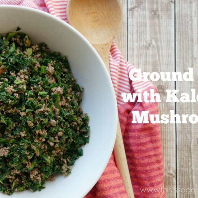 Ground Beef With Kale And Mushrooms Recipe Yummly Recipe In 2020 Stuffed Mushrooms Mushroom Recipes Ground Beef Recipes