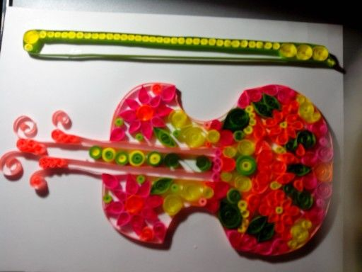 Violin quilling
