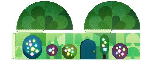 Tis the season!  Google Doodle for Christmas Eve, Thursday, December 24, 2015
